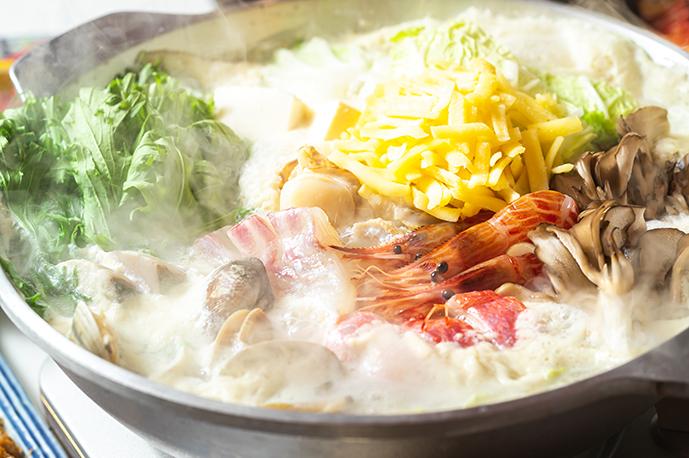 新鮮な魚介を使ったお鍋もおまかせ | 溝の口産直市場